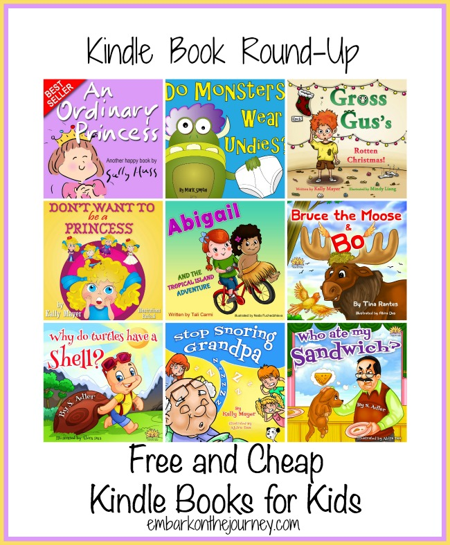 Free and Cheap Kindle Books for Kids {5.30} | embarkonthejourney.com