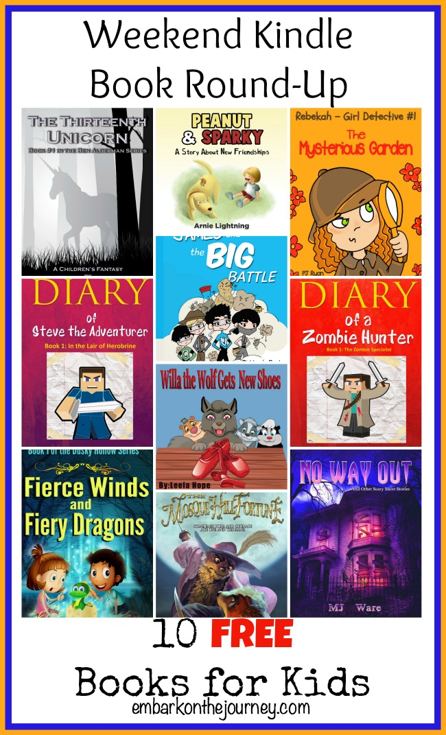 Free and Cheap Kindle Books for Kids {May 17}