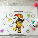 Spring Showers Printable and Activities