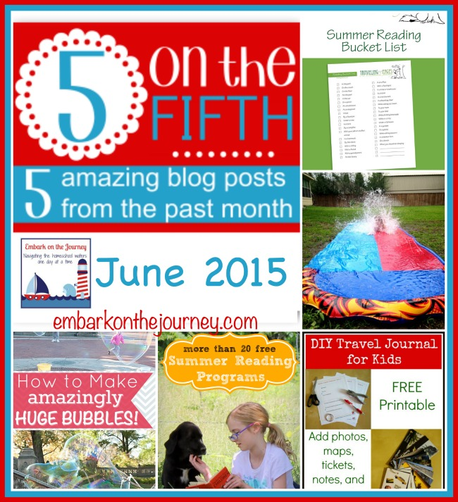 5 on the Fifth June 2015 {Summer Fun}