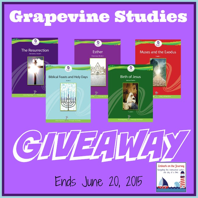 Exciting Giveaway from Grapevine Studies