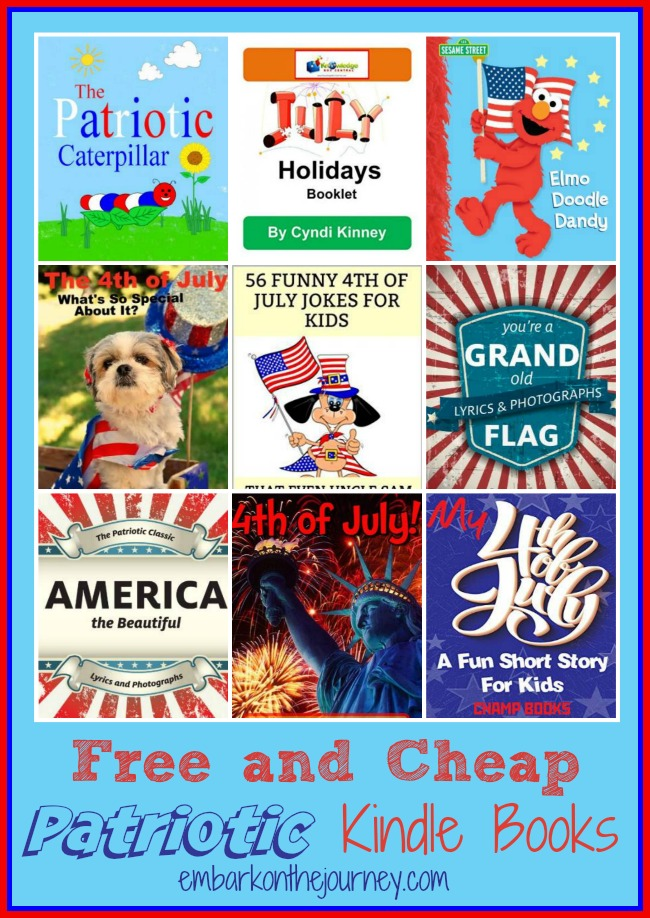 Free and Cheap Patriotic Kindle Books
