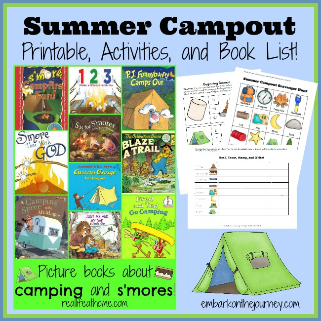 Summer Campout Printable