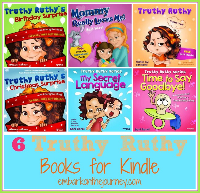 6 Truthy Ruthy Kids Books for Kindle
