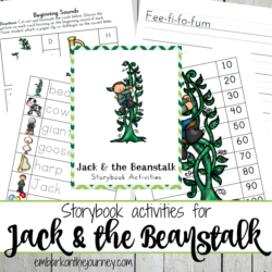 Jack and the Beanstalk Free Printables and Activities