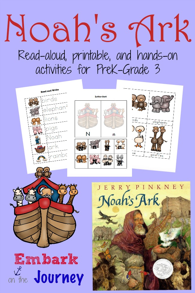 photograph about Noah's Ark Printable identified as Noahs Ark Study-Aloud Functions and Totally free Printable