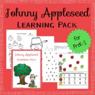 Johnny Appleseed Printable and Hands-On Fun