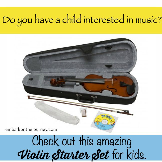 Violin Starter Set for Kids – On Sale Now!
