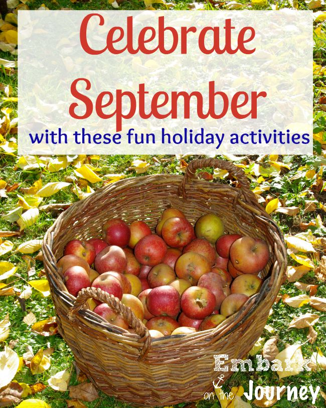 Celebrate September with These Fun Holiday Activities