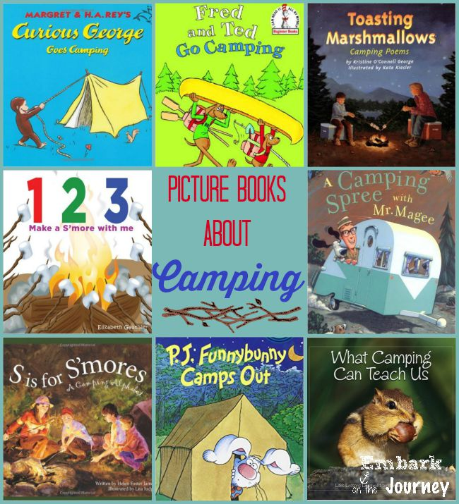 Picture Books About Camping | embarkonthejourney.com