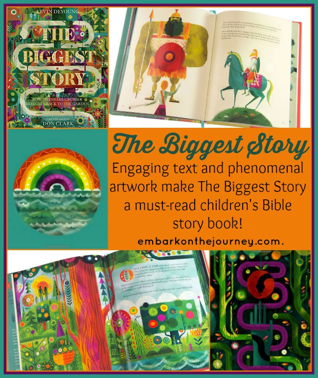 The Biggest Story {A Christian Kids Book Review}