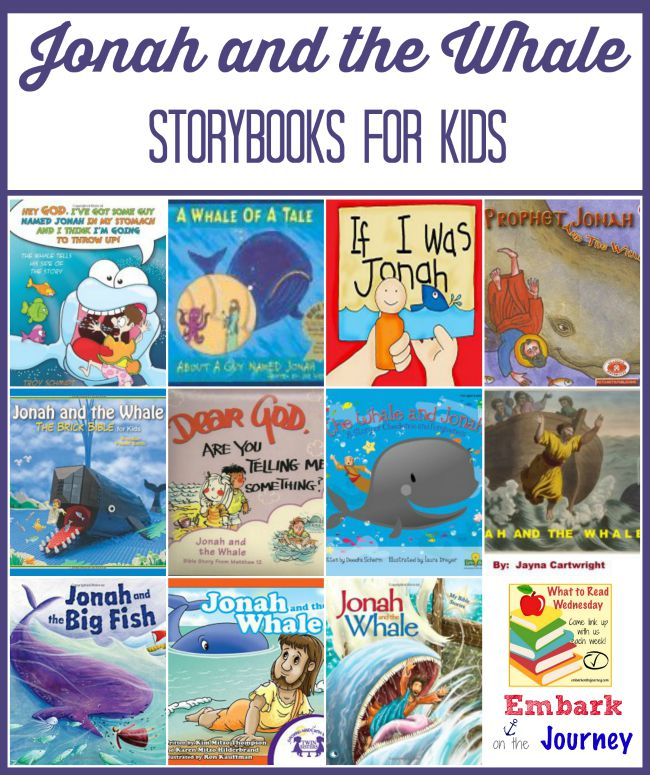 Jonah and the Whale Story Books