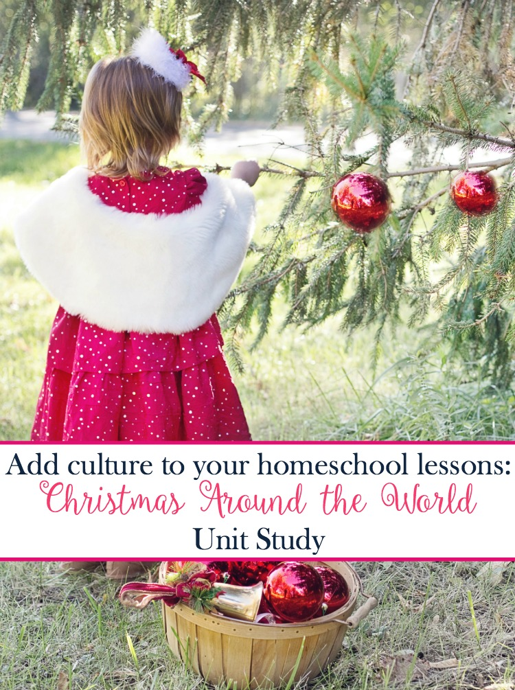 It's easy to add geography and culture to your homeschool lesson plans with a fun Christmas Around the World unit study! | embarkonthejourney.com