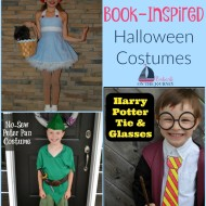 16 Book Inspired Halloween Costumes for Kids