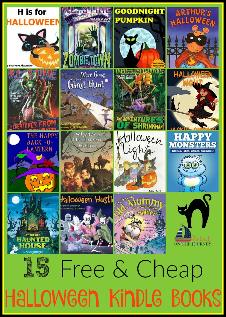 15 Free and Cheap Halloween Books for Kindle | embarkonthejourney.com