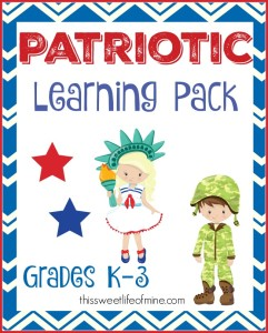 Patriotic Learning Pack Small
