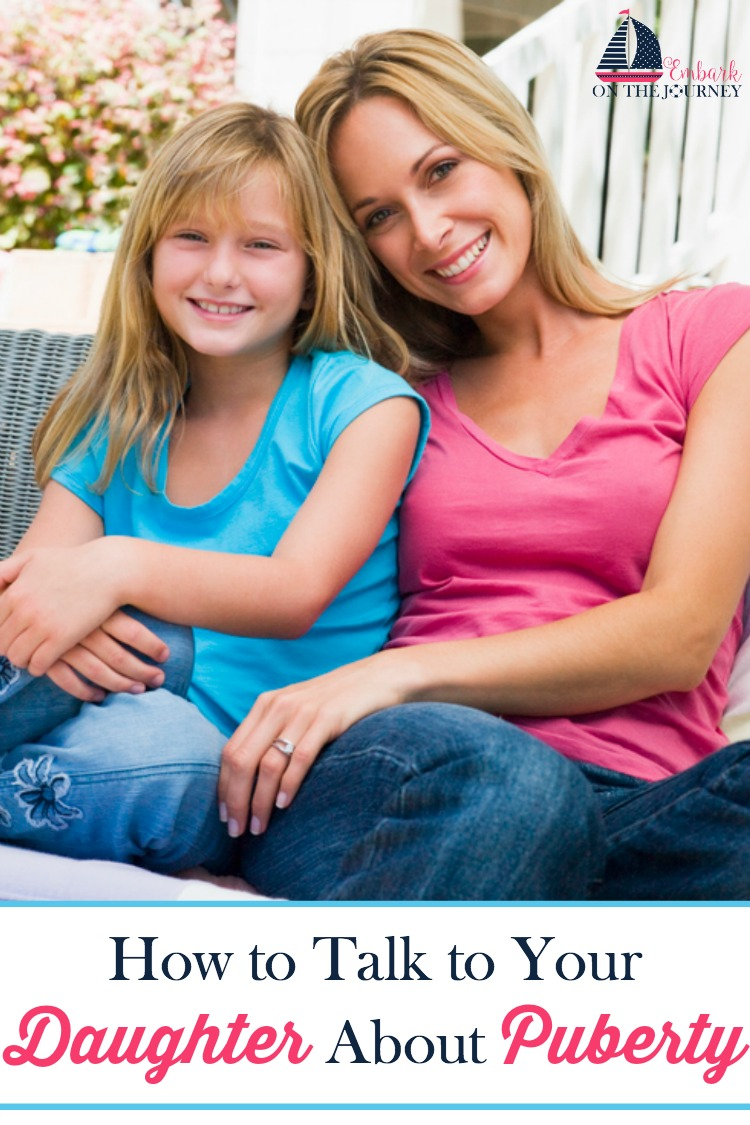 Here are tips and resources for talking to your daughter about puberty.