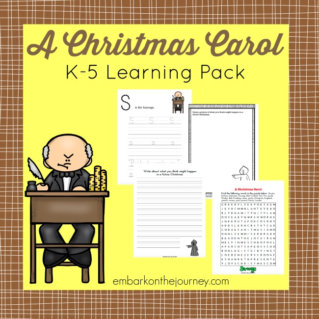 12 Best A Christmas Carol Images On Pinterest: Free Christmas Carol Printable Learning Pack