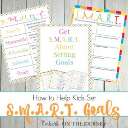 How to Help Kids Set SMART Goals for the New Year