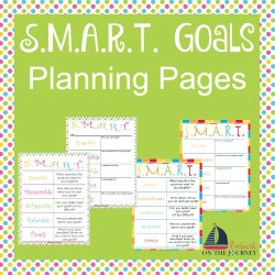 SMART Goal Planning Pages