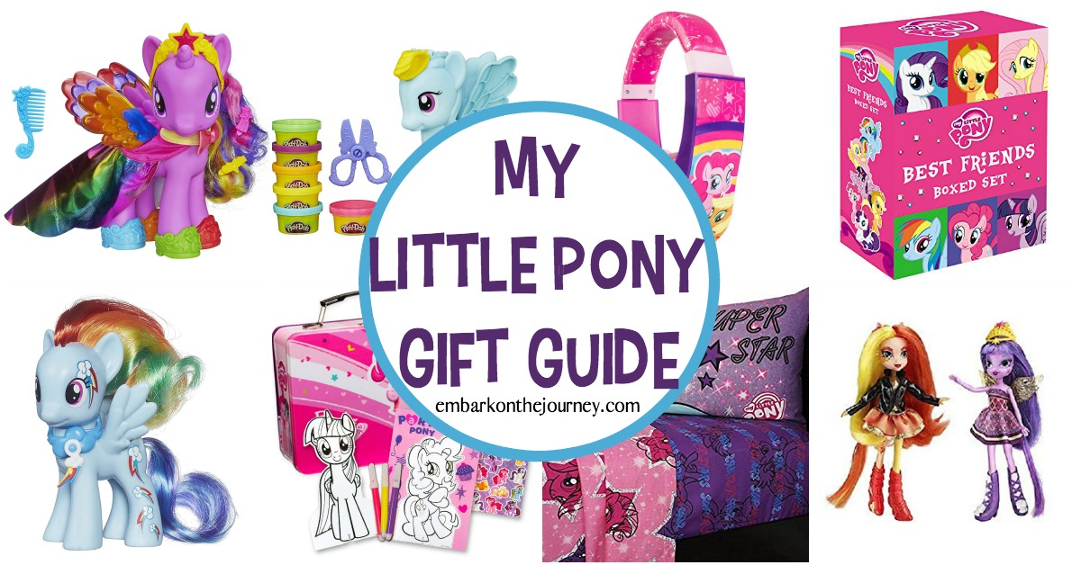 My Little Pony means friendship and fun! This is a great list of My Little Pony gifts that are perfect for the ultimate My Little Pony fan!
