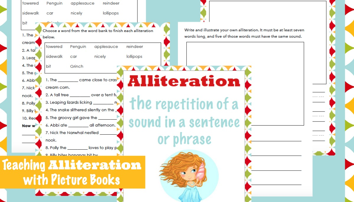 Teaching Alliteration With Picture Books Embark On The Journey