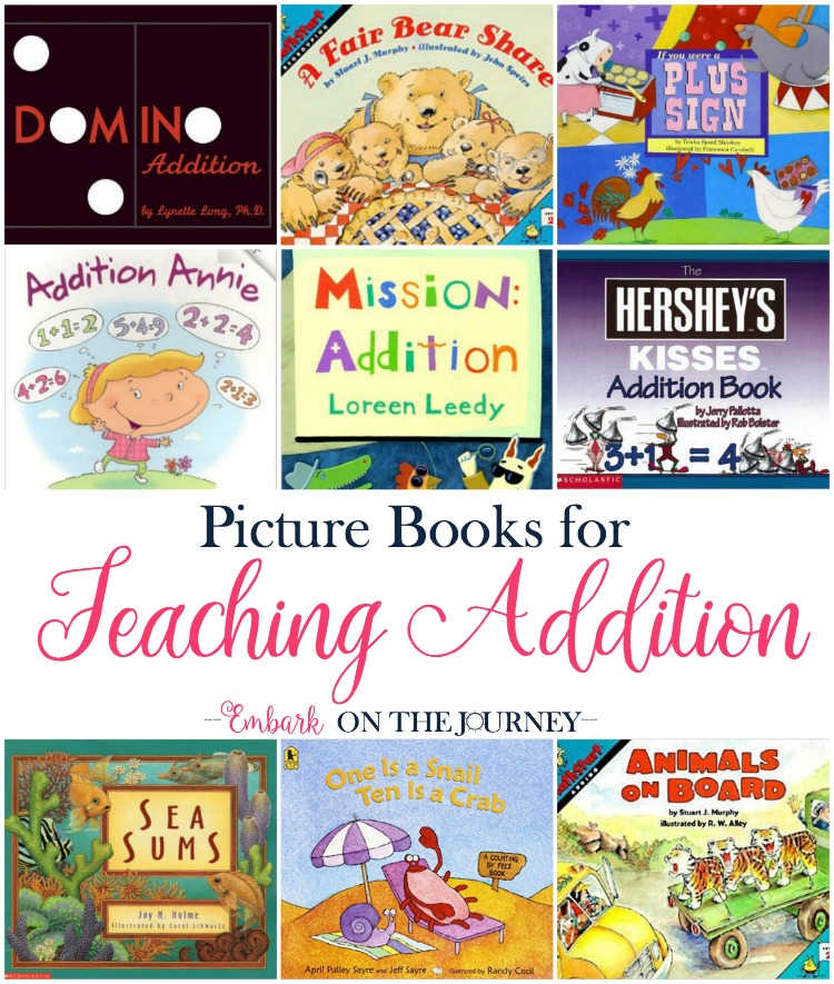 Teaching Addition with Picture Books - Embark on the Journey