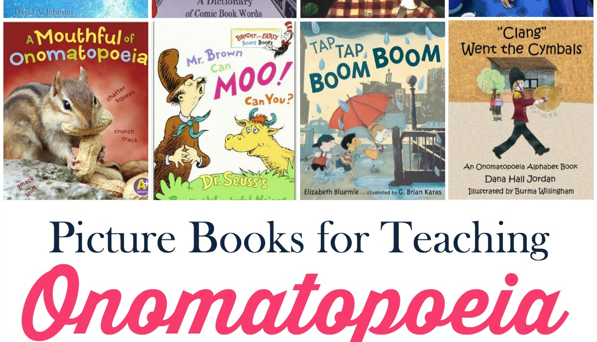 Teaching Onomatopoeia With Picture Books