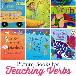 Teaching Verbs with Picture Books
