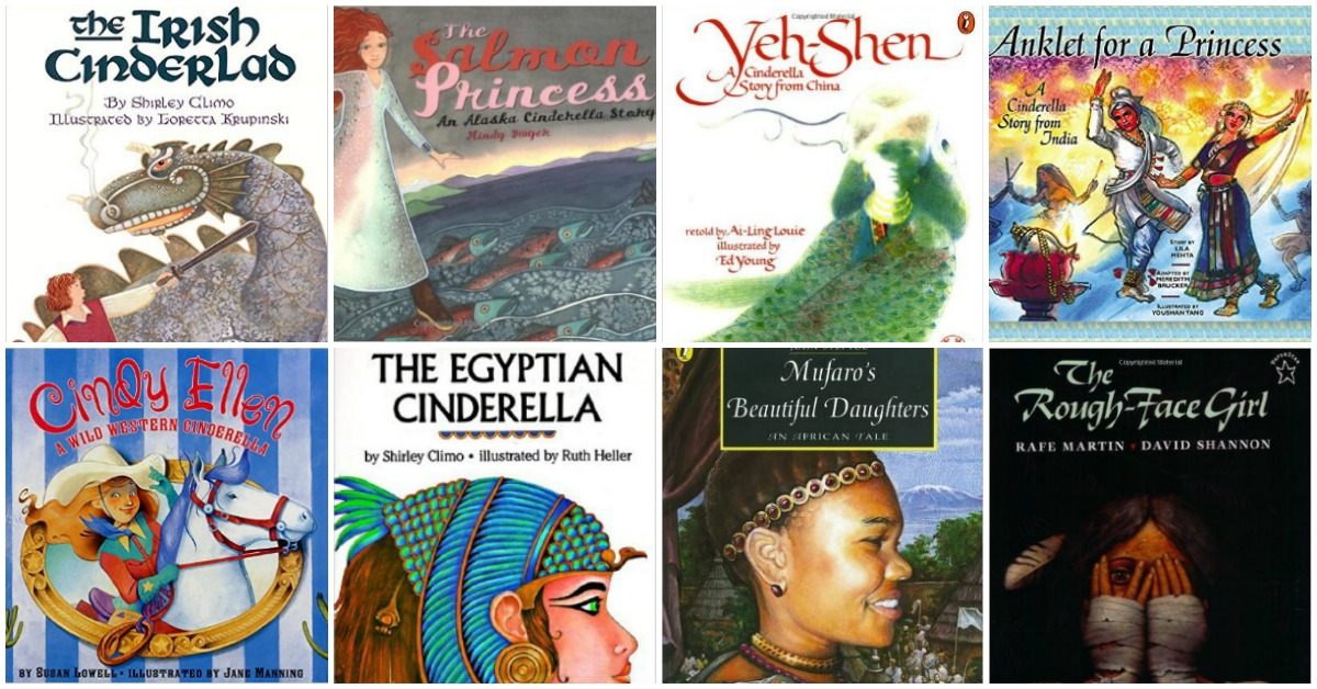 similarities and differences in various version of the fairy tale cinderella Tell the children that there are many different versions of [cinderella]  tale] has a witch and [cinderella] has a fairy godmother)  similarities and.