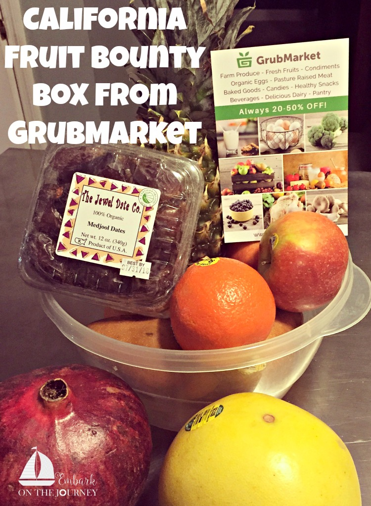 Perk up your winter menu with a fresh fruit delivery from GrubMarket! Enter to win a California Fruit Bounty Box. Contest ends 2/12/16. | embarkonthejourney.com
