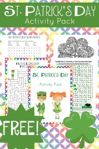 Your kids will enjoy completing these free St Patricks Day printable activities! | embarkonthejourney.com