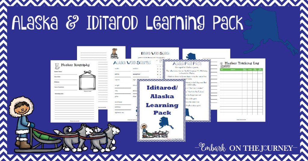 Alaska & Iditarod Learning Pack SM