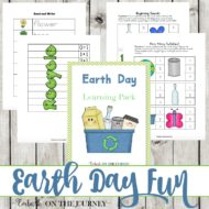 Earth Day Printable Pack for K-3