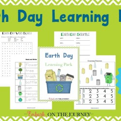 Free Earth Day Printable Pack for K-3