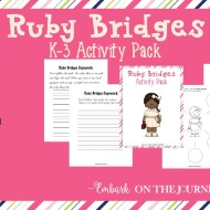 Ruby Bridges Activity Pack for K-3