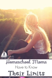 No two homeschools will look alike. Everyone's needs and family dynamics are different. When a homeschool mom knows her limits, she can set herself up for a successful year! | embarkonthejourney.com