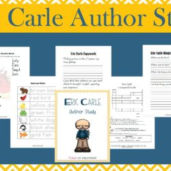 Eric Carle Author Study with FREE Printables