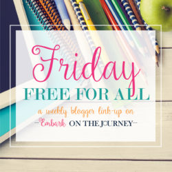 Friday Free for All Link Party #12