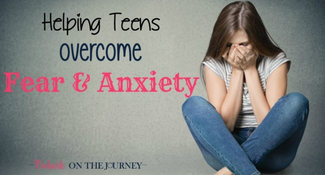 Fear and anxiety can steal the joy out of every day life. Don't let this happen to your teens. Use the tips to help your teens overcome their fears and anxiety. | embarkonthejourney.com