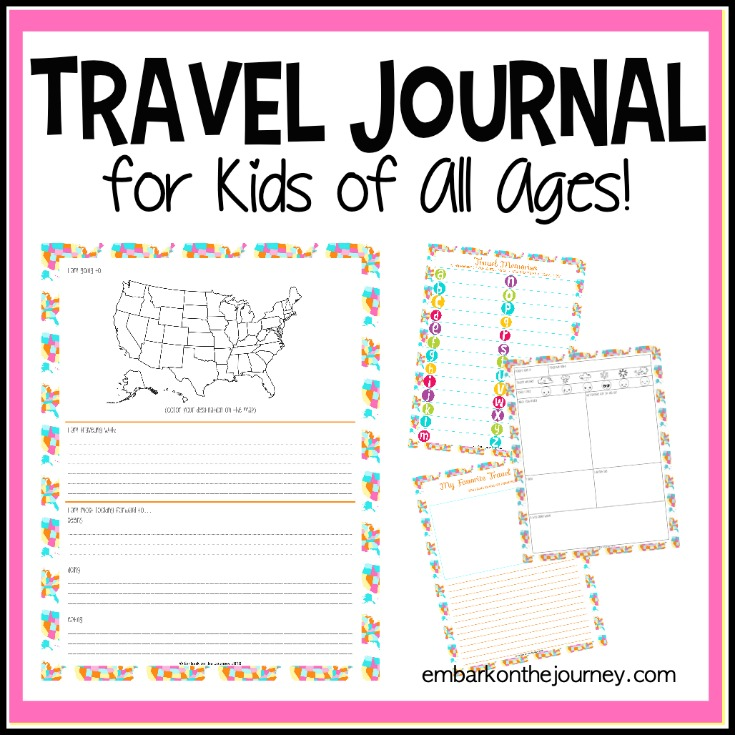 image about Travel Journal Printable named Background Reminiscences within just This Printable Children Push Magazine