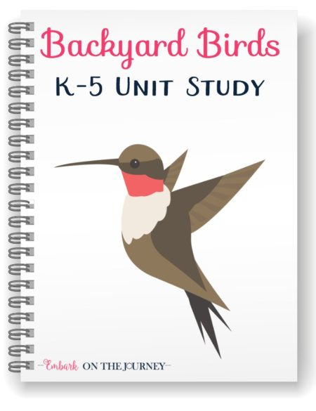 Backyard Birds Notebook