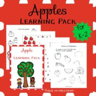 Apple Printable Pack for PreK to 2nd Grade