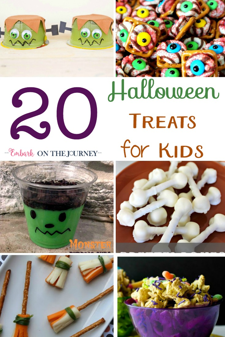 Halloween is just around the corner! Tie on your apron and dust off your calrdon! It's time to whip up some spooktacular treats! | embarkonthejourney.com