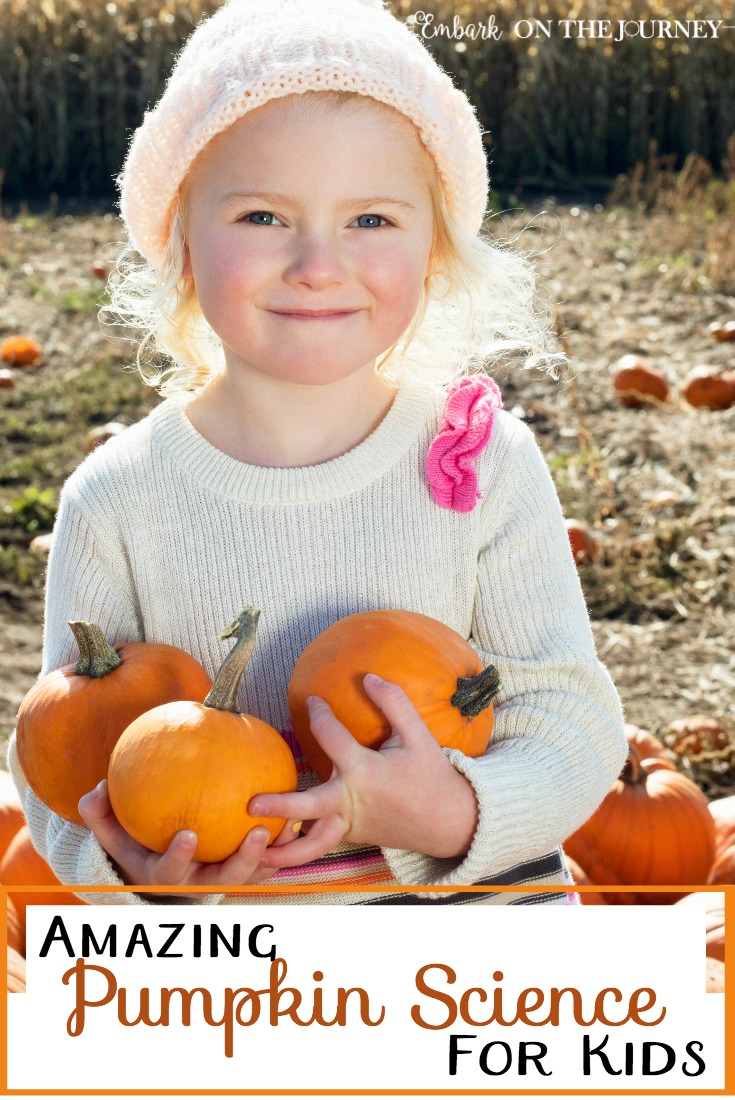 What do we do with pumpkins after Halloween? It seems such a waste to throw them away. Here are some amazing pumpkin science activities you can do with your kids. Which one will you try first? | embarkonthejourney.com