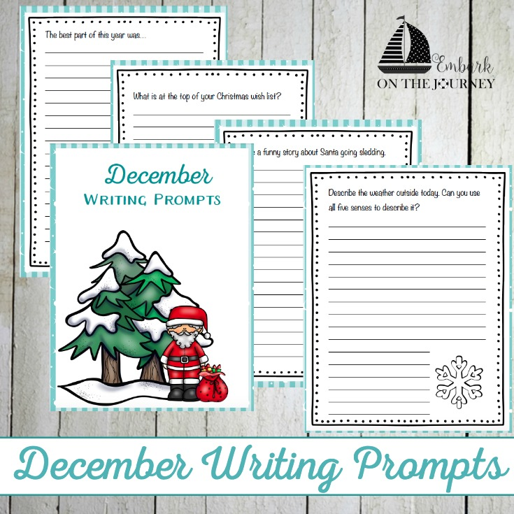 december writing prompts Grade 8 writing prompts page 3 december 2015 competition is a constant presence in today's schools, where students not only compete with one another in the.
