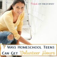 7 Ways Homeschool Teens Can Get Volunteer Hours