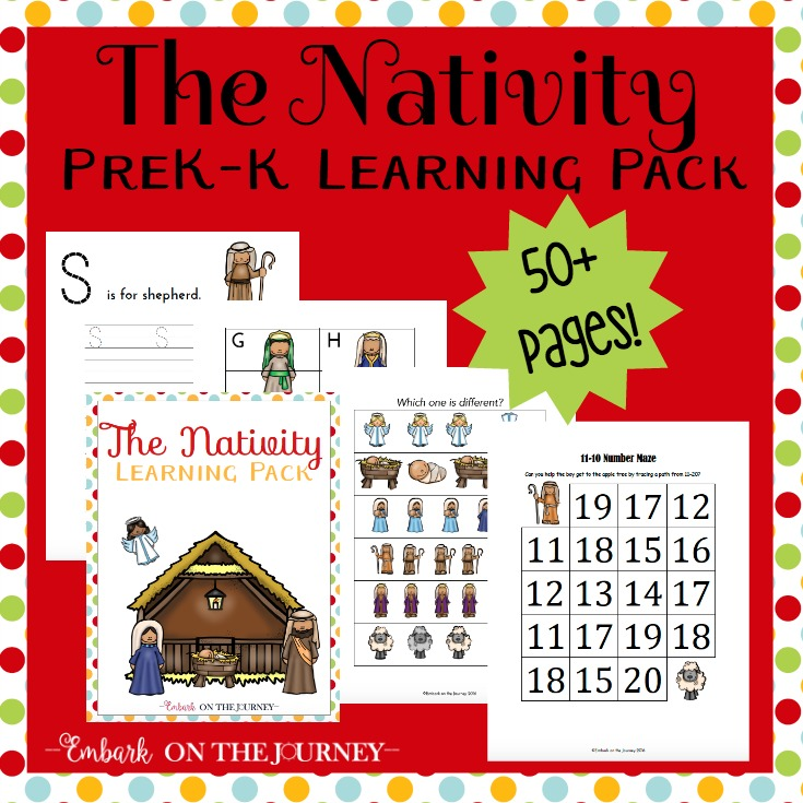 photograph regarding Nativity Printable identify Nativity Printable Pack for Preschool and Kindergarten