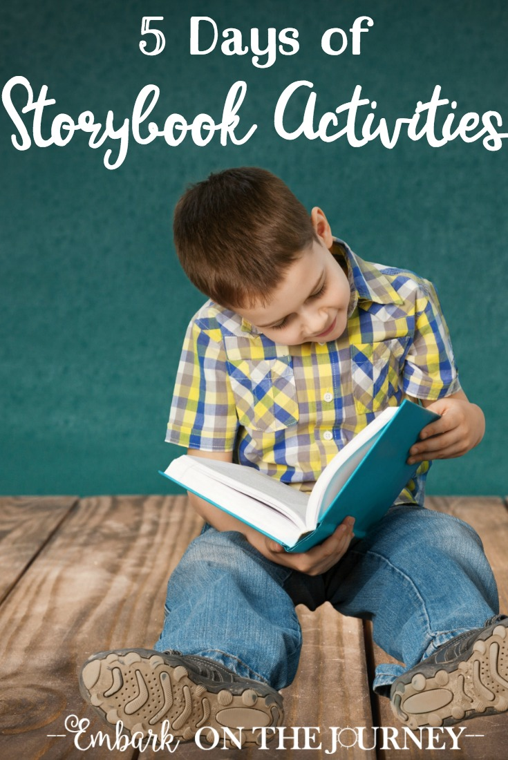 Bring your child's favorite storybooks to life with hands-on activities and printables! | @homeschljourney