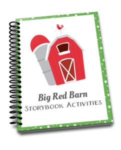 """Preschoolers and kindergarteners will love these hands-on activities and free printables to go along with Margaret Wise Brown's """"Big Red Barn!"""" 